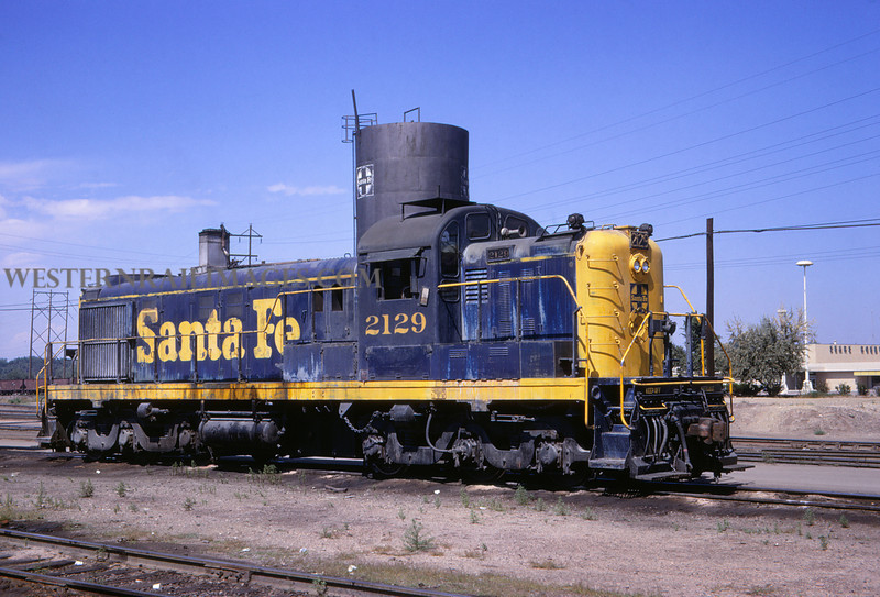 ATSF 42 - Sep 1 1967 - Alco RS 13 no 212 @ Pueblo Colo - Jim Ozment