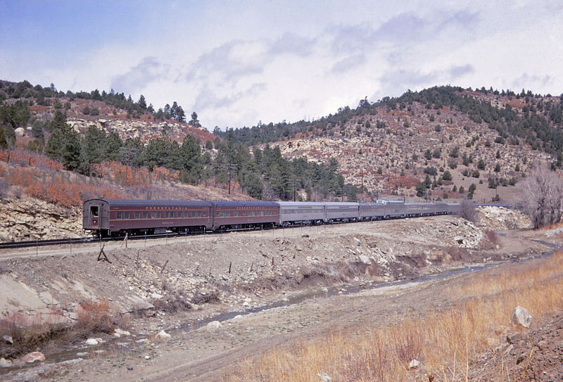 ATSF 89 - Apr 27 1968 - Eb Chief no 20 near Starkville Colo - Jim Ozment