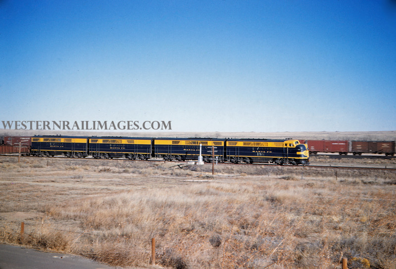 ATSF 12 - Dec 29 1959 - Southbound near Pueblo Colo - Jim Ozment