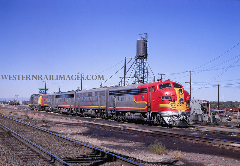 ATSF 46 - Oct 25 1967 - no 328 @ Pueblo Colo - Jim Ozment