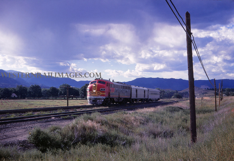 ATSF 112 - Sep 7 1968 - No 191 sb south of Colorado Springs Colo - Jim Ozment