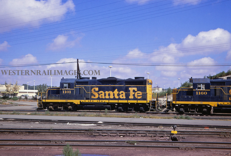 ATSF 45 - Sep 28 1967 - GP 20s @ Pueblo Colo - Jim Ozment