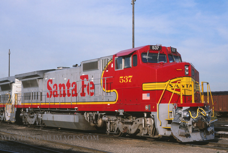 ATSF 359 - Aug 1 1991 - no 537 @ Chicago Ill - by L Coone