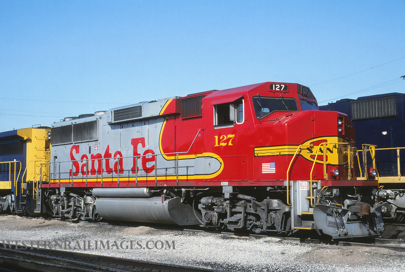 ATSF 61 - Feb 2 1992 - GP60 @ Kansas CIty KS - by L Coone