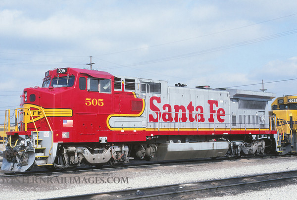 ATSF 259 - March 12 1992 - no 505 @ Kansas City KS - by L Coone