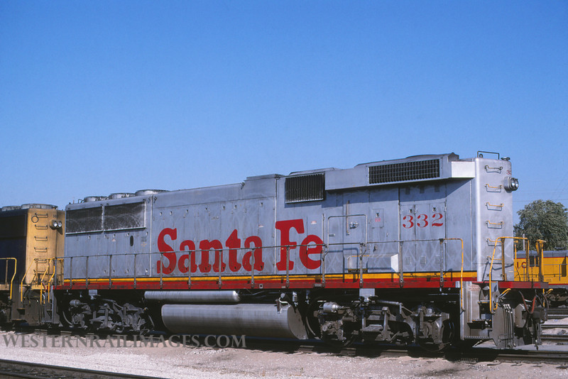 ATSF 211 - Oct 4 1997 - no 332 @ Kansas City KS - by L Coone