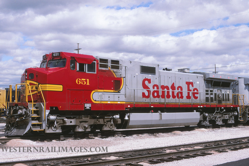 ATSF 560 - Mar 22 1995 - no 651 @ Kansas City KS by L Coone