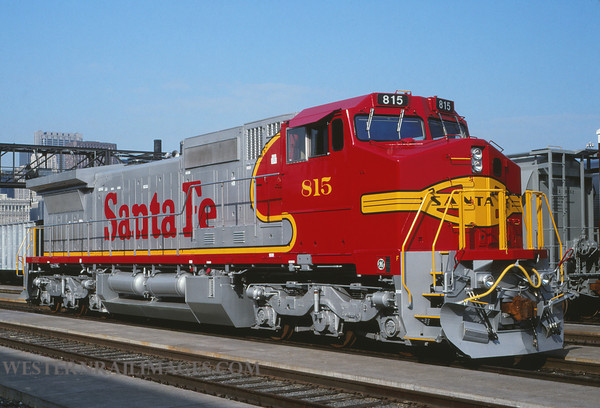 ATSF 547 - Sep 25 1992 - no 815 @ Chicago Ill by L Coone