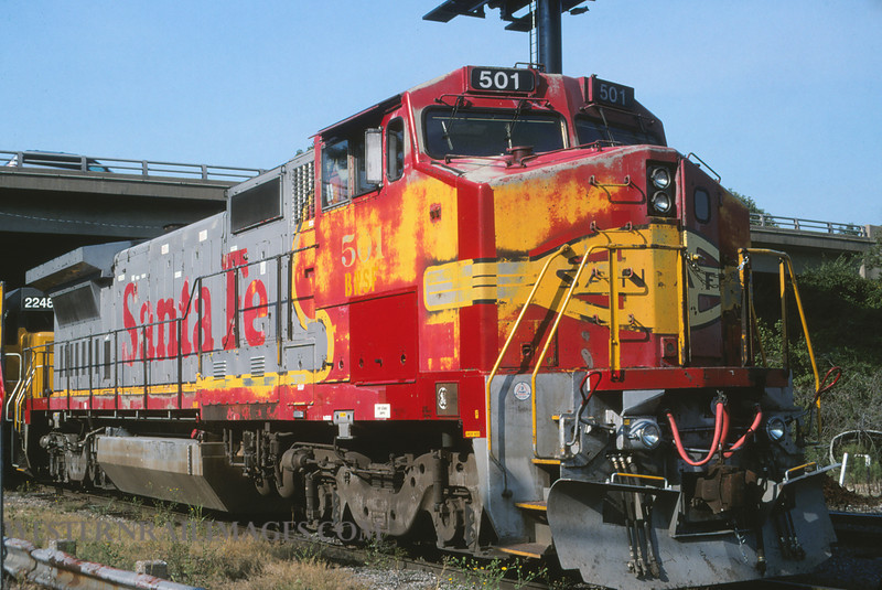 ATSF 248 - Aug 2002 - no 501 @ Paducah KY - by L Coone