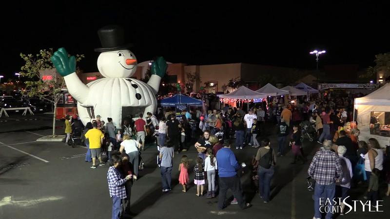 Santee Holiday Lighting Ceremony 2015