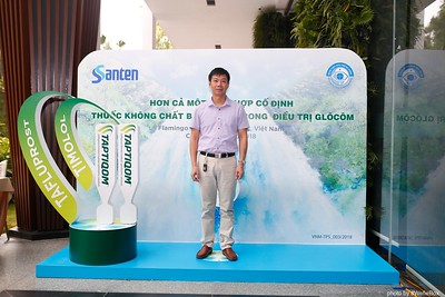 Santen TAPTIQOM Event Photo Booth at Flamingo Dai Lai Resort - Vinh Phuc - Vietnam