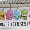Car size standards on Santorini.  A VW beetle is considered a large car...