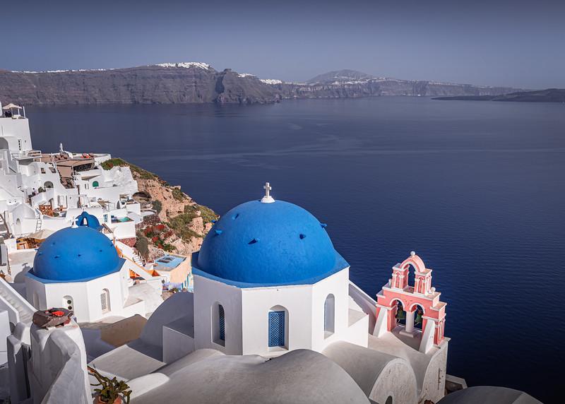 Aegean Shapes!!! - Oia, Santorini