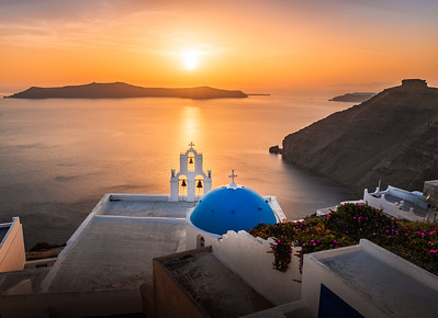 Let there be Light! - Three Bells of Fira, Santorini