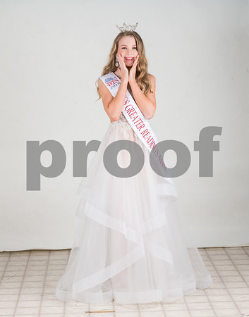 Sara Snyder proofs Miss Teen America