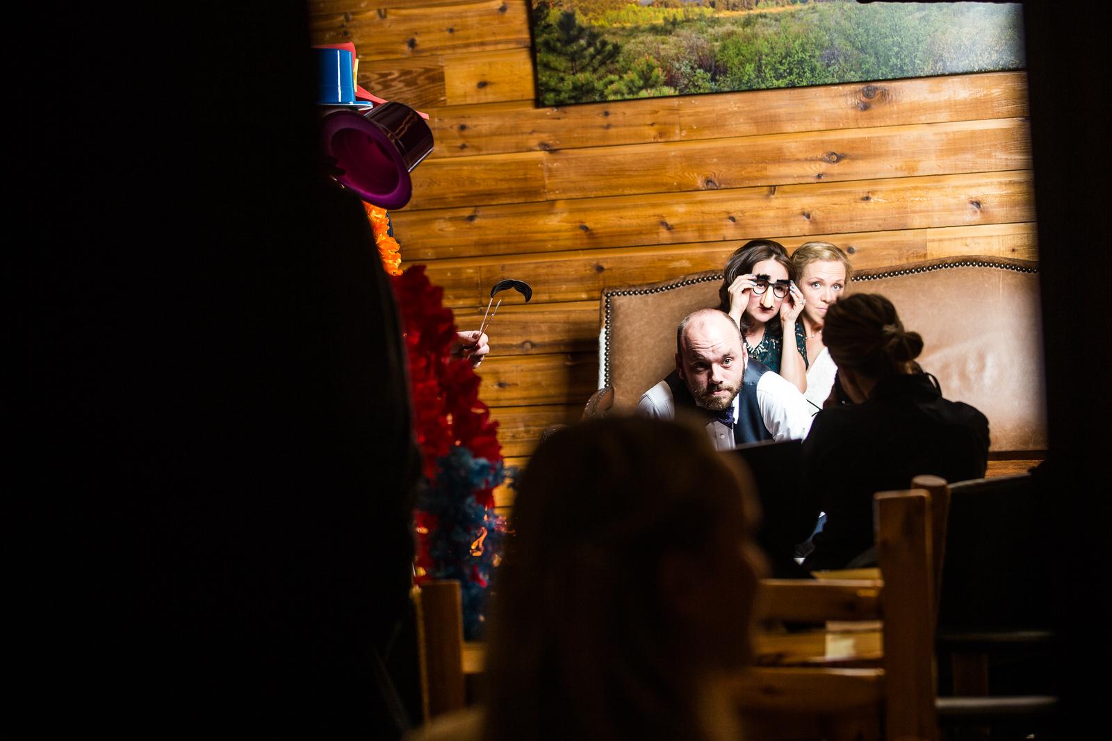 Sarah & Alex's Wedding at Wild Basin Lodge on 2/18/17