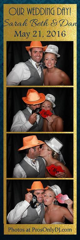 Sarah Beth & Dan Wedding 5-21-16