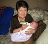 Grandma W feeding Sarah