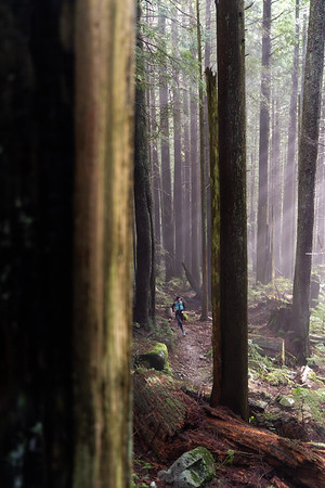 Sarah Korp Trail Run Seymour Mountain