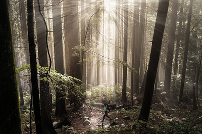 Sarah Korp Trail Run Seymour Mountain