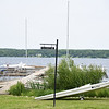A South Lake Drive dock holds a few sail boats before the 2019 season on Wednesday, June 12, 2019. SARAH YENESEL/STAFF PHOTOGRAPHER
