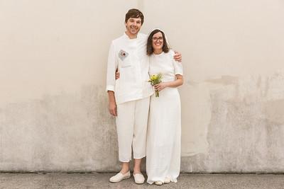 Sarah and Eli's Rockaway Wedding - 8/18/18