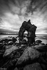 Seastack, Northern Iceland