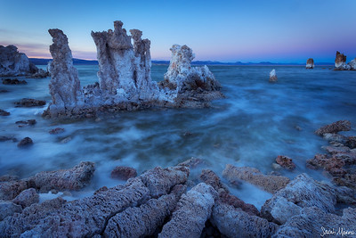 Twilight at Mono Lake