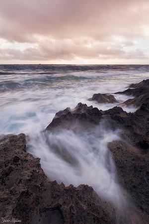 Sunset, Mahaulepu Beach
