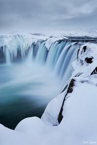 Winter Goðafoss
