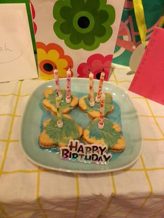 Sarahs 6. Geburtstag