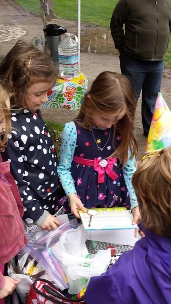 Sarahs 7. Geburtstag