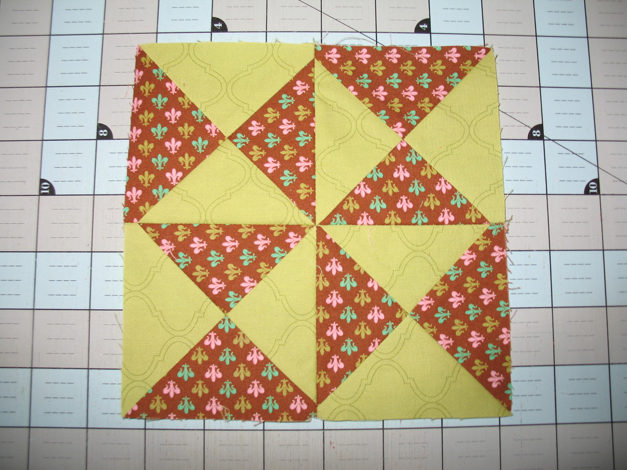 Farmers Wife Sampler Block #6 Big Dipper