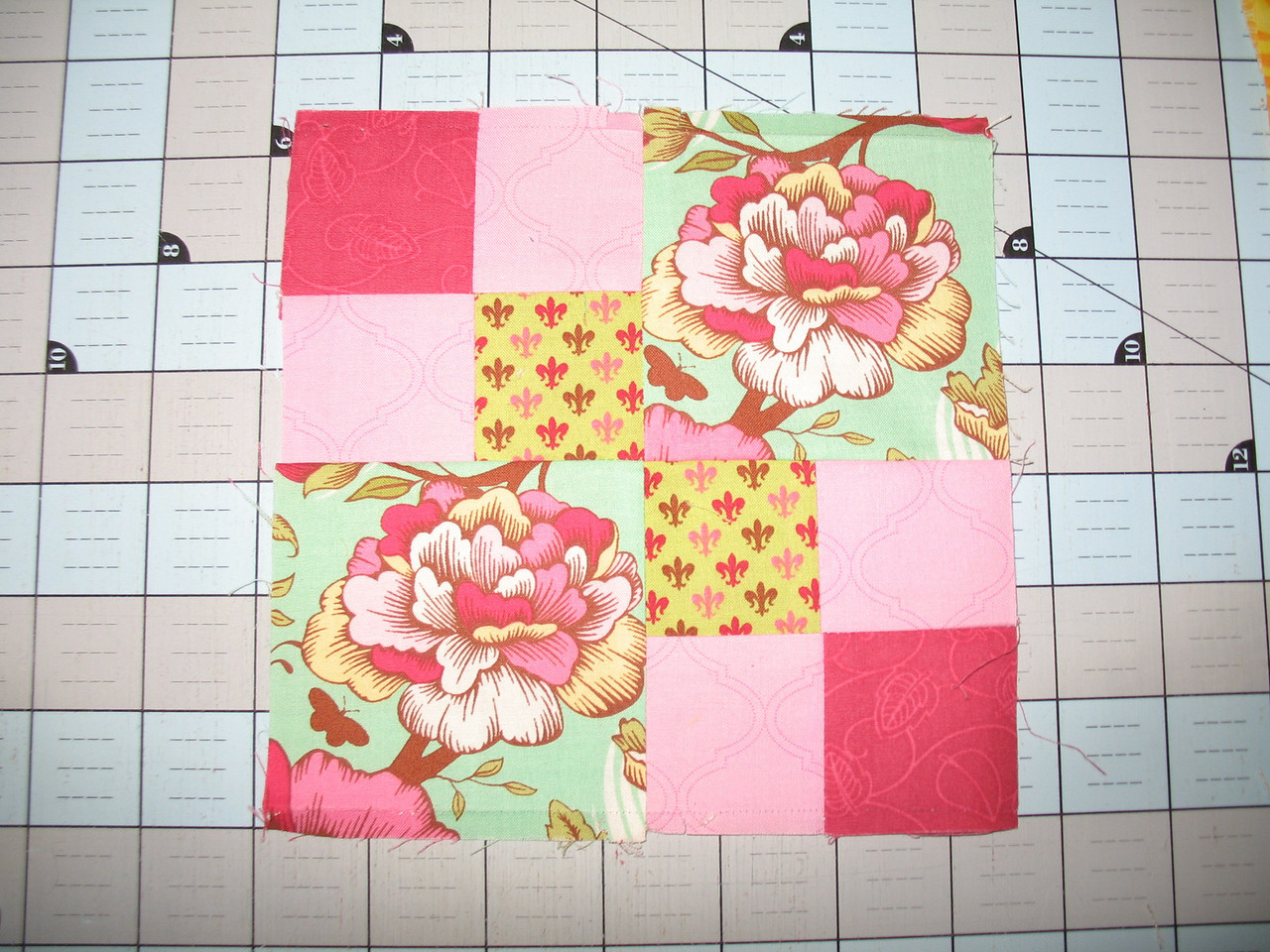 Farmers Wife Sampler block # 4 Autumn Tints