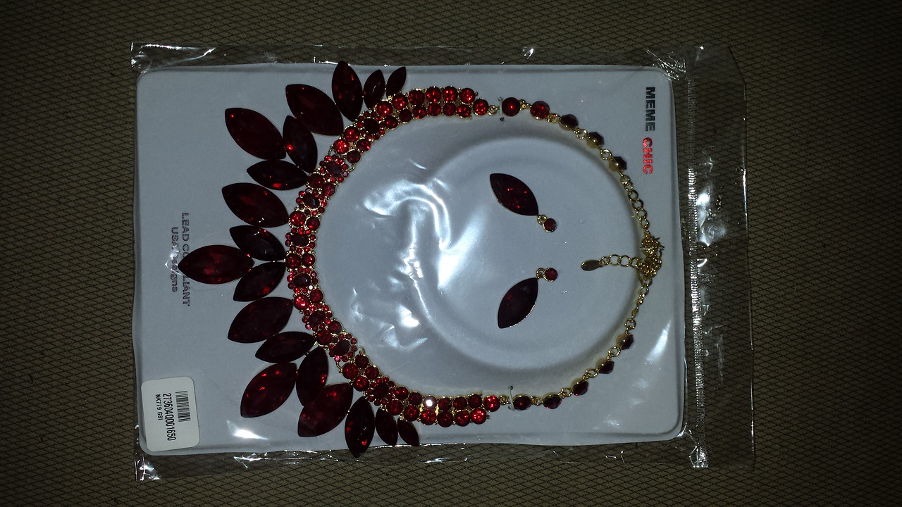 Red necklace $35