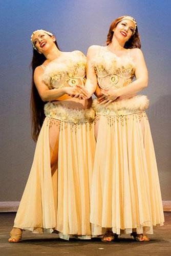 3 Goddess costumes