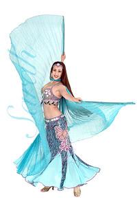 SIM Moda Famous turkish designer belly dance costume $350