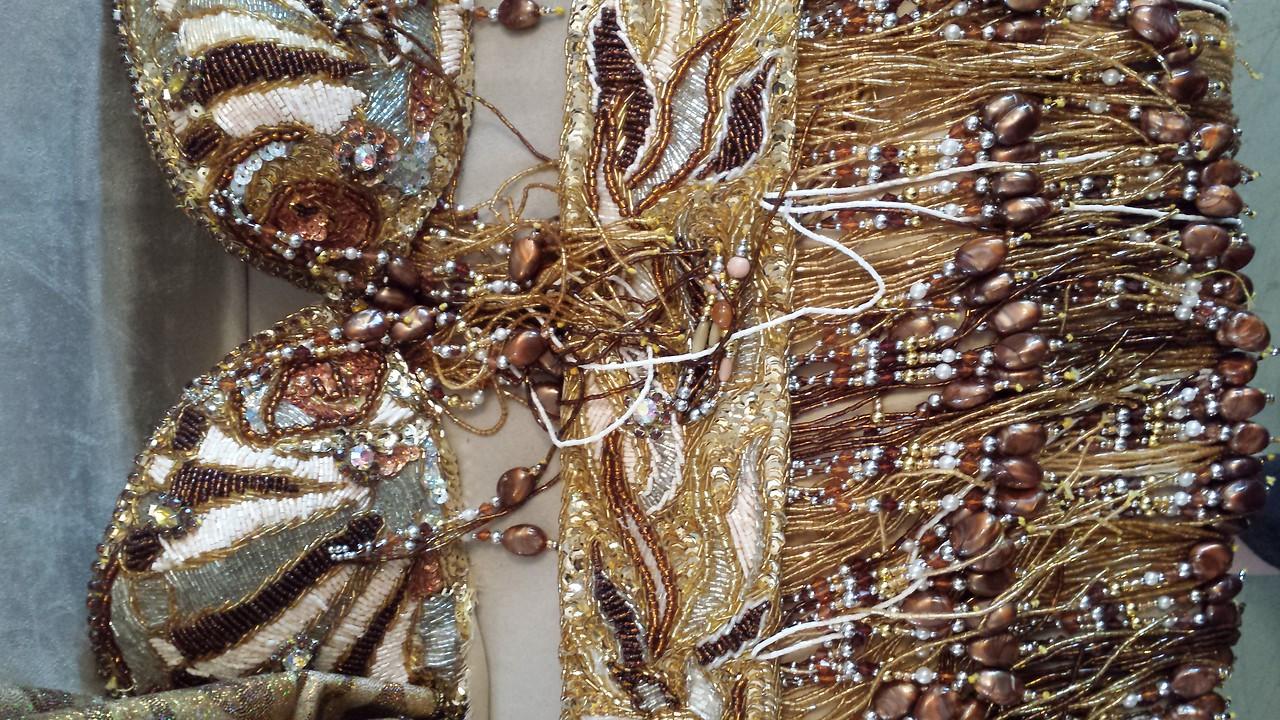 BRAND NEW EGYPIAN COSTUME copper