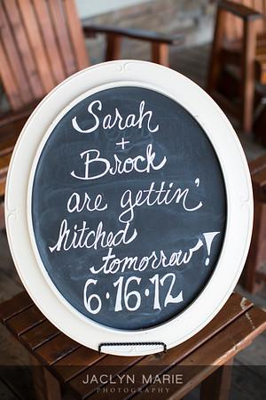 Sarah + Brock