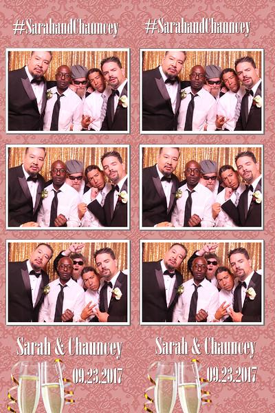 Sarah & Chauncey's Wedding  |  09.23.2017