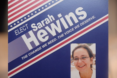 Sarah_Hewins for 2nd Plymouth State Representative/Thanks to all my supporters. great effort! .