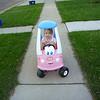 Eve still loves her little pink car, she just doesn't like having her photo taken.<br /> Oct 11, 2010