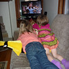 Eve and Lillian engrossed in Eve's favorite movie - The Wizard of Oz<br /> Oct 15, 2010