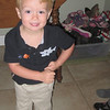Sept 10, 2012<br /> Graham is ready to walk Eve to school