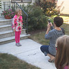 Sept 10, 2012<br /> Maureen takes a first day of school photo