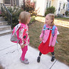 Sept 10, 2012<br /> Sophie and Eve gossiping before school