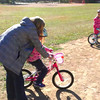 Eve learning to ride her bike. 09.23.12