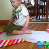 Graham playing with his trains 09.16.2012