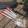 IMG_2229 Contents of tent peg bag.