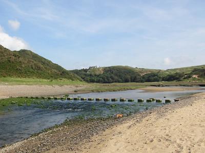 Three Cliffs Bay Sept 2012